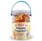 Learning Resources All About Me Family Counters, set of 72