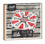 Family Games Rustik Super Tock Game 6 Player