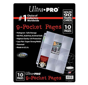 Ultra Pro 9-Pocket Pages for Trading Cards