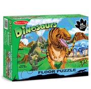 Melissa & Doug Melissa & Doug Land of Dinosaurs Floor Puzzle 48pcs