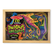 Melissa & Doug Melissa & Doug 20 Wooden Dinosaur Magnets in a Box