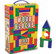 Melissa & Doug Melissa & Doug Wood Blocks 100 pcs