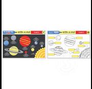 Melissa & Doug Melissa & Doug Write-a-Mat Planets Placemat