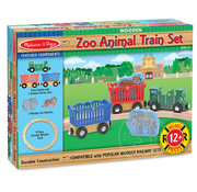 Melissa & Doug Melissa & Doug Zoo Animal Train Set