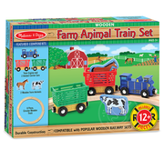 Melissa & Doug Melissa & Doug Farm Animal Train Set