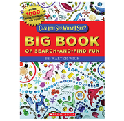 Scholastic Can You See What I See? Big Book of Search-and-Find Fun