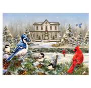 Cobble Hill Puzzles Cobble Hill Country House Birds Puzzle 1000pcs