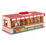 Melissa & Doug Melissa & Doug Take-Along Show-Horse Stable