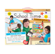 Melissa & Doug Melissa & Doug School Time Classroom Play Set