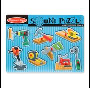 Melissa & Doug Melissa & Doug Construction Tools Sound Peg Puzzle