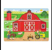Melissa & Doug Melissa & Doug Around the Farm Sound Peg Puzzle