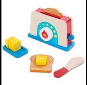 Melissa & Doug Melissa & Doug Bread & Butter Toaster Set