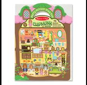 Melissa & Doug Melissa & Doug Puffy Sticker Play Set - Chipmunk House