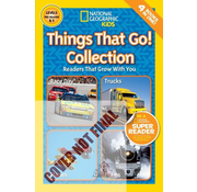 National Geographic National Geographic Readers Level Pre-reader & 1: Things That Go Collection