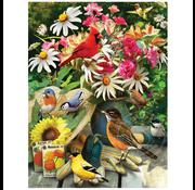 Cobble Hill Puzzles Cobble Hill Garden Birds Puzzle  500pcs