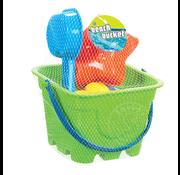 Toysmith Beach Gear Four Piece Bucket Set