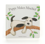 Jellycat Jellycat Puppy Makes Mischief Book