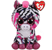 TY TY Beanie Boos Flippables Sequin Zoey Reg RETIRED