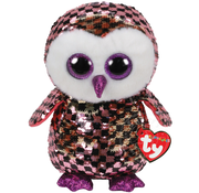 TY TY Beanie Boos Flippables Sequin Checks Med