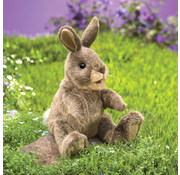 Folkmanis Folkmanis Small Cottontail Rabbit Puppet