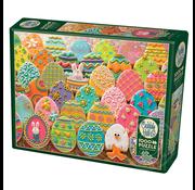 Cobble Hill Puzzles Cobble Hill Easter Eggs Puzzle 1000pcs