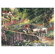 Cobble Hill Puzzles Cobble Hill Carriage Ride Easy Handling Puzzle 275pcs