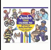 Melissa & Doug Melissa & Doug Jumbo Town Coloring Pad