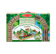 Melissa & Doug Melissa & Doug Take-Along Railroad