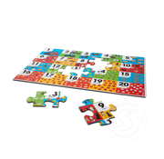 Melissa & Doug Melissa & Doug Farm Number Floor Puzzle 24pcs