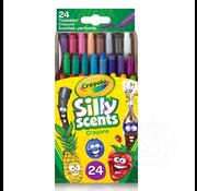 Crayola Crayola Silly Scents - Mini Twistable Crayons - 24 ct