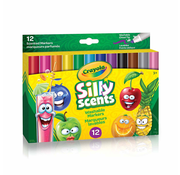Crayola Crayola Silly Scents - Wedge Tip Markers - 12 ct