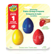 Crayola Crayola My First Palm Grasp Crayons