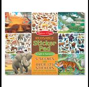 Melissa & Doug Melissa & Doug Reusable Sticker Pad Jungle & Savanna