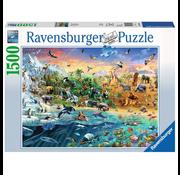 Ravensburger Ravensburger Our Wild World Puzzle 1500pcs