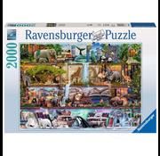 Ravensburger Ravensburger Wild Kingdom Shelves Puzzle 2000pcs