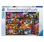 Ravensburger Ravensburger World of Books Puzzle 2000pcs