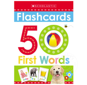 Scholastic 50 First Words Flashcards