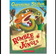Scholastic Geronimo Stilton #53: Rumble in the Jungle