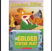 Scholastic Geronimo Stilton #55: The Golden Statue Plot