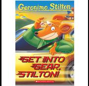 Scholastic Geronimo Stilton #54: Get into Gear, Stilton!