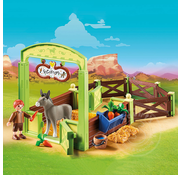 "Playmobil Playmobil Spirit II Horse Stall ""Snips & Señor Carrots"""