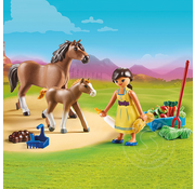 Playmobil Playmobil Spirit II Pru with Horse and Foal
