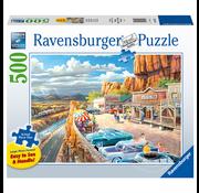 Ravensburger Ravensburger Scenic Overlook Large Format Puzzle 500pcs