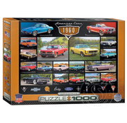 Eurographics Eurographics American Cars of the 1960s Puzzle 1000pcs