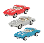 Schylling Pull Back Die Cast Corvette Stingray '63
