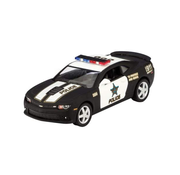 Schylling Pull Back Die Cast Police Camaro