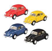 Schylling Pull Back Die Cast Classic Beetle