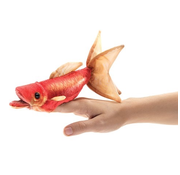 Folkmanis Folkmanis Goldfish Finger Puppet