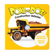 Melissa & Doug Melissa & Doug Poke-A-Dot Book Construction Vehicles