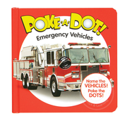 Melissa & Doug Melissa & Doug Poke-A-Dot Book Emergency Vehicles